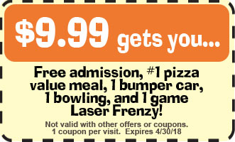 Goofballs Family Fun Center Discount Coupon