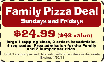 Family Fun Center Discount Coupon